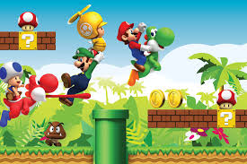 mario wallpaper wallpaper mario wall mural muralswallpaper co uk