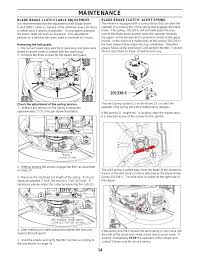 maintenance ybravo bravo 25 mower 25 201 kawasaki user manual