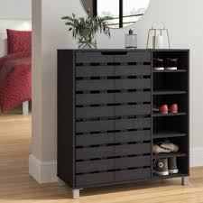 cabinet for shoes and coats entry mudroom storage you ll love wayfair