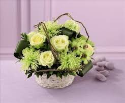 Order Flowers San Francisco - basket of dreams arrangement colma florist funeral flowers