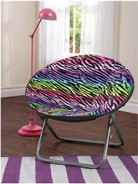 Saucer Chair Cover Cocoon Multi Rainbow Animal Faux Fur Saucer Chair Only 14 67 Was