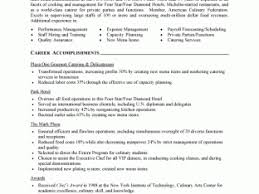 Culinary Resume Skills Examples Sample by 100 Cook Resume Skills Resume Without Objective Sample 87