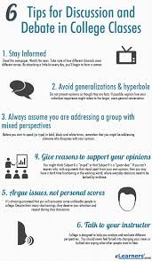 6 rules for discussion and debate in college classes must read