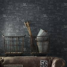 oxford charcoal wallpaper andrew martin