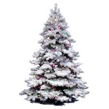 Best Artificial Christmas Trees by Vickerman Flocked Alaskan Christmas Tree Flocked Christmas Trees