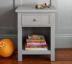grey nightstand with charging station u2014 new decoration gray