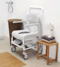 Shower Chairs With Wheels Clean Wheeled Shower Commode Chair