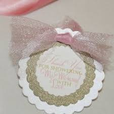 tutu nail polish favor tags tickled pink by customdesignsbylauri