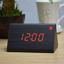 Modern Desk Clock Factory Modern Thermometer Desk Clocks Led Digital Clock Alarm