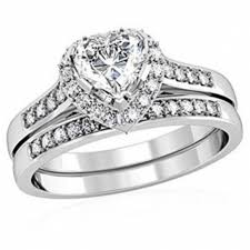 Heart Wedding Rings by Download Heart Shaped Wedding Ring Sets Wedding Corners