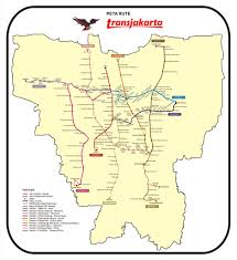 Map Of Jakarta Jakarta Bus System Transjakarta Maplets