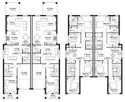 single story duplex designs floor plans richmond 49 9 duplex level floorplan by kurmond homes new home