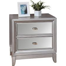Affordable Mirrored Nightstand Bedroom Nightstand White Nightstand Table Small With Drawers