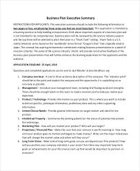 20 executive summary templates free u0026 premium templates