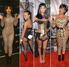 Cheetah Girls Halloween Costume Ybf Celebs Flock Maxim Halloween Party Christina Milian