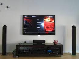 tv in living room home design