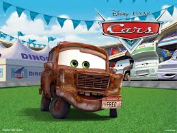 rusty car driving fred the rusty car from pixar u0027s cars movie desktop wallpaper