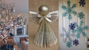 DIY ROOM DECOR 10 DIY Projects for Christmas & Winter Decorating
