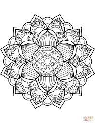 Mandala Coloring Pages Free Coloring Pages Mandala Flowers Coloring Pages