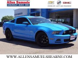 2013 mustang gt blue ford mustang gt blue 294 grabber ford mustang gt used cars in