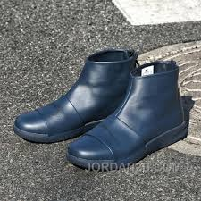 high top motorcycle boots nike benassi boot 819683 400 men boots genuine leather high top