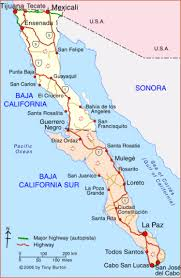 map of mexico and california clickable interactive map of baja california baja california sur