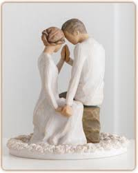 christian wedding cake toppers willow tree around you cake topper lifeway