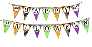 happy halloween banner printable pagety com