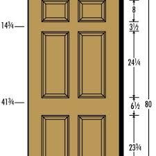Standard Door Width Exterior Standard Exterior Door Opening Exterior Doors Ideas Door