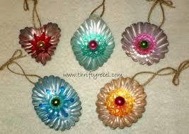 jello mold tart tin ornaments thrifty rebel vintage