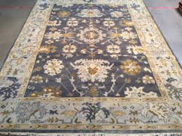 Oushak Rugs Reproduction Rasmus Auctioneers