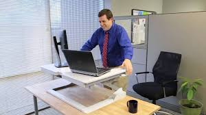 Ergotron Sit Stand Desk by Ergotron Workfit T It U0027s So Simple Youtube