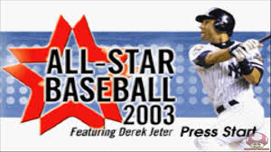 all star baseball 2003 gba intro youtube