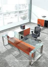 modern glass work desk glass work desk thesocialvibe co