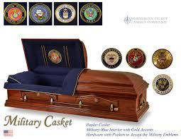 camo casket northern craft casket company