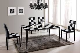 Dining Room Set Dining Room Black And White Dining Room Set Black And White