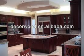 dark chocolate glazed maple kitchen cabinet with kitchen island