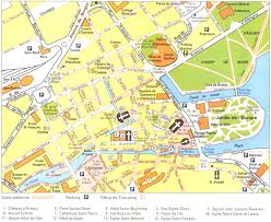 Nantes France Map by Annecy France Map Recana Masana