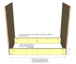 Kitchen Cabinet Face Frame Dimensions by Ana White 42