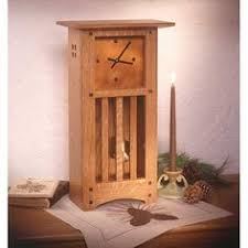 Small Woodworking Projects For Gifts by Craftsman Clock Woodworking Plans And Projects Woodarchivist