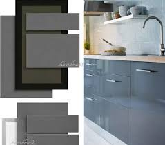 Glossy Kitchen Cabinets Flat Front Kitchen Cabinets