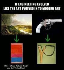 Modern Art Meme - has the art establishment lost it s mind by aleximusprime on