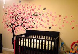 Bird Wall Decals For Nursery by Pop Decors Cherry Blossom Tree Wall Decal U0026 Reviews Wayfair