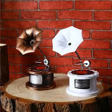 aliexpress com buy vintage iron gramophone classic decoration