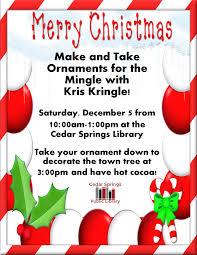 make and take ornaments