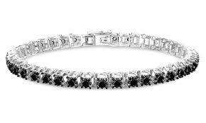 black diamonds bracelet images Femme luxe 3 00 cttw tennis bracelet black diamond check back jpg