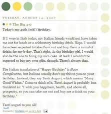 best 25 happy birthday in italian ideas on pinterest
