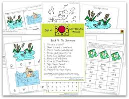 free bob book printables 4 books 3 4
