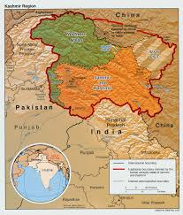 Pakistan On The Map Kashmir Maps Perry Castañeda Map Collection Ut Library Online