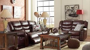 Rooms To Go Sofas And Loveseats by Manual U0026 Power Reclining Living Room Sets With Sofas